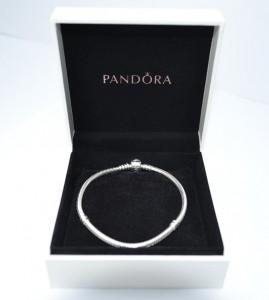 Pandora Snake Chain Bracelet Presentation Box