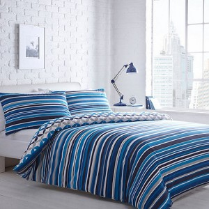 Home Collection Jackson Stripe Duvet Cover