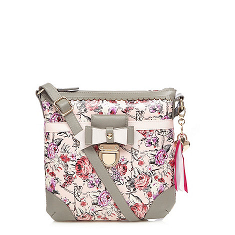 Floozie Ballerina Print Cross Body Bag