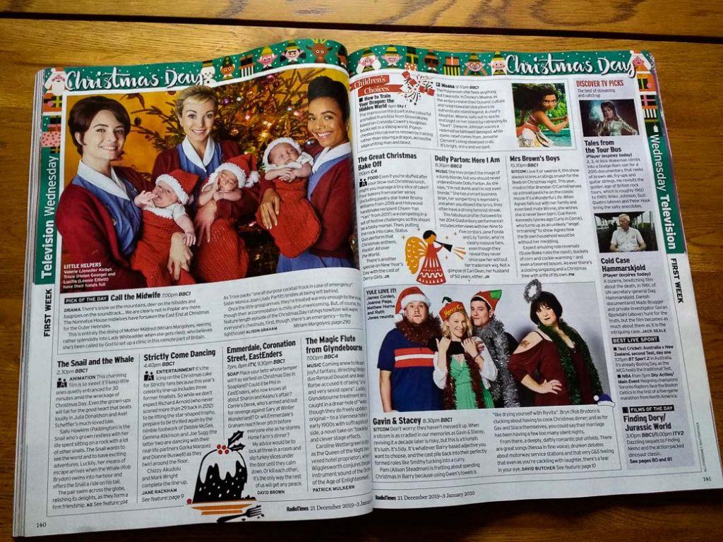 Radio Times Christmas Edition