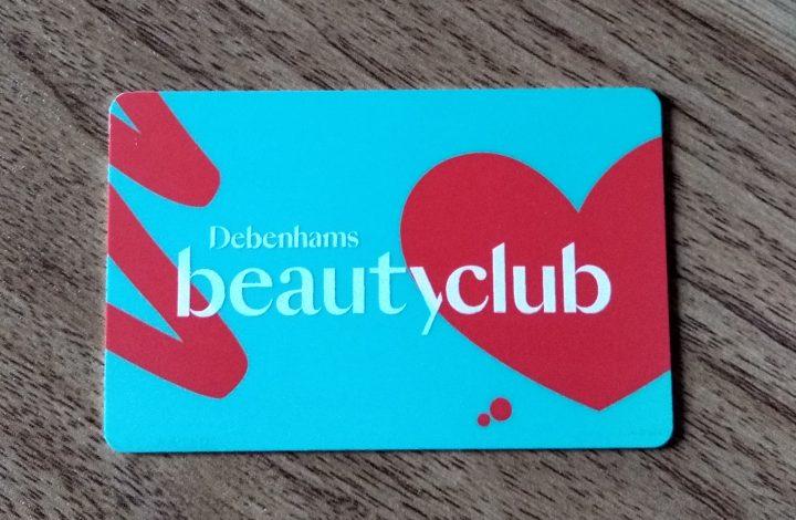 Debenhams Beauty Rewards Card