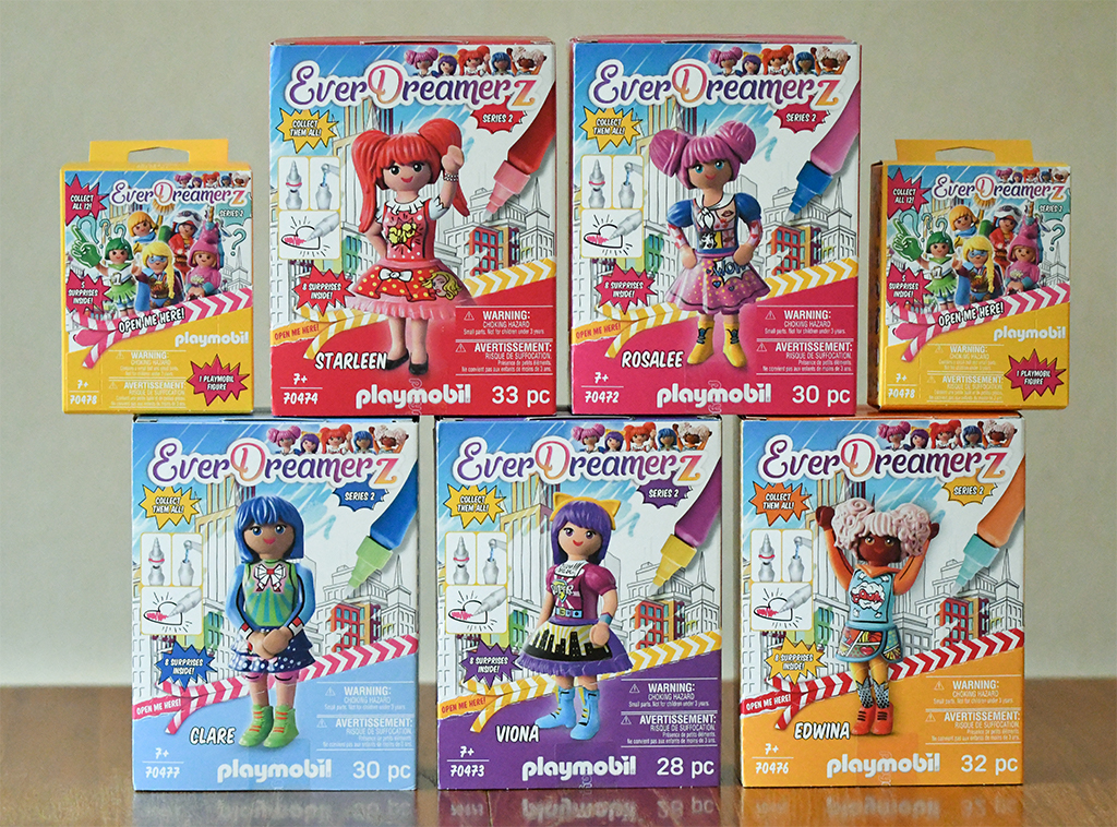 Playmobil EverDreamerZ Series 2 Collection