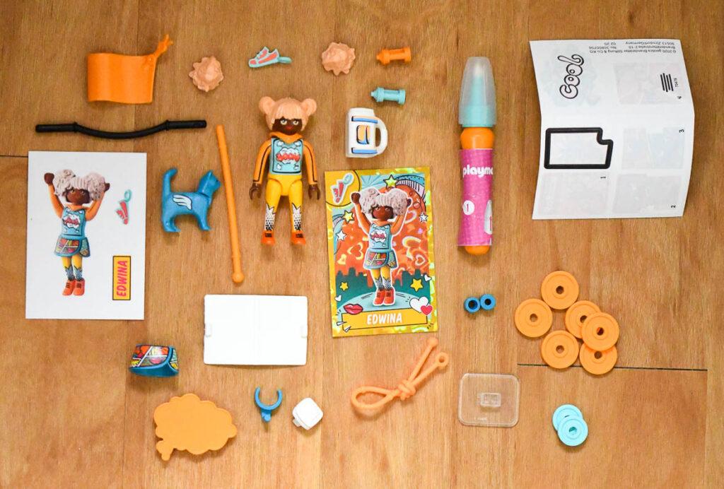 Playmobil EverDreamerZ Series 2 Edwina Box Contents