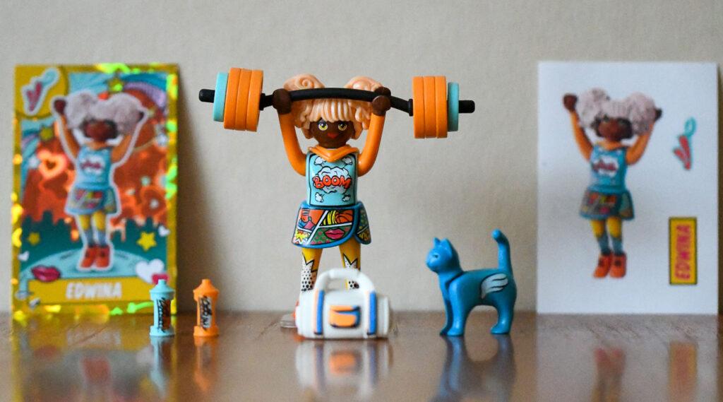 Playmobil EverDreamerZ Series 2 Edwina Weightlifting