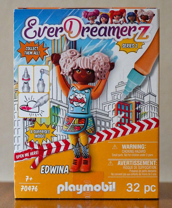 Playmobil EverDreamerZ Series 2 Edwina box - front