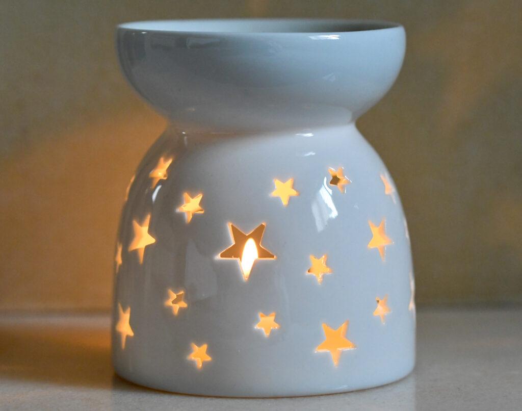 ComSaf Essential Oil Burner Star patten