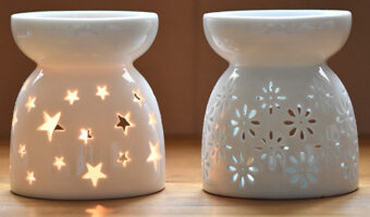 ComSaf Essential Oil Burners Twin Set feature